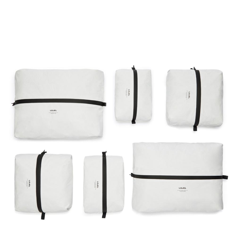 LOJEL|Slash/衣物收納袋(6入裝)(白色)