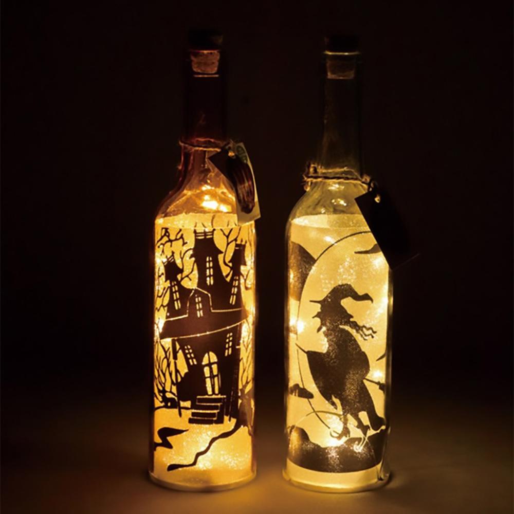 SPICE|萬聖節女巫瓶子LED燈飾(2種組)