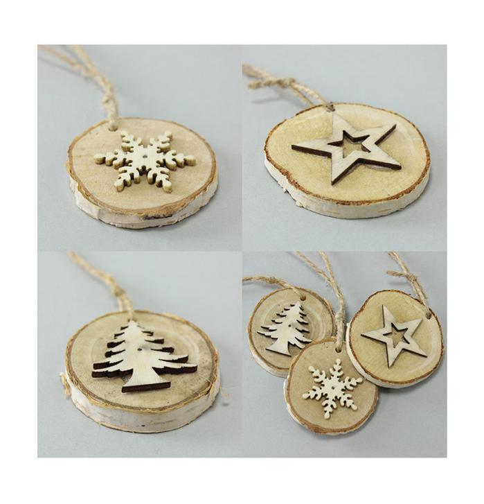 (複製)SPICE|聖誕節木頭聖誕樹擺飾-L
