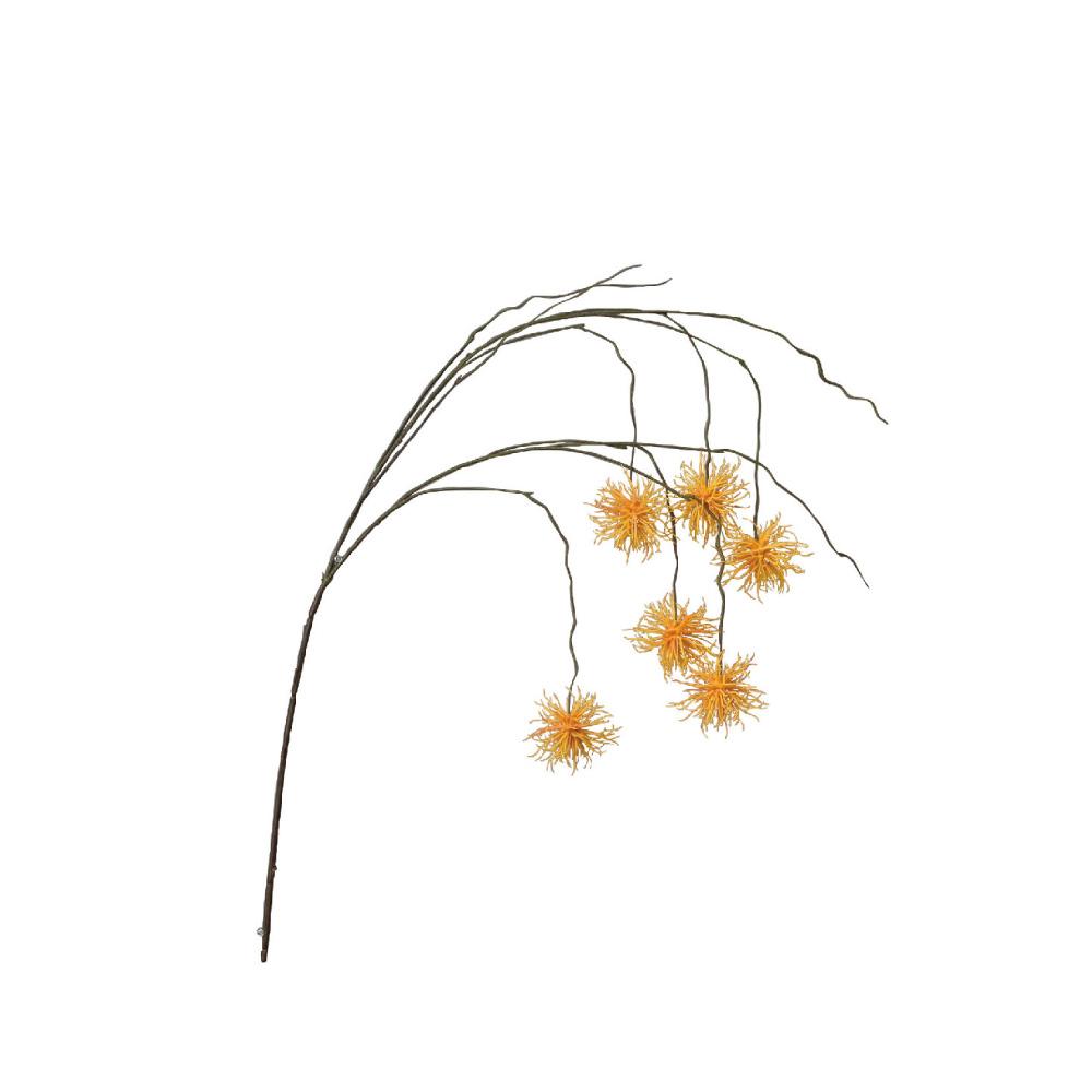 SPICE|日本超仿真人造花 -唯美垂頭翠菊(橘色)