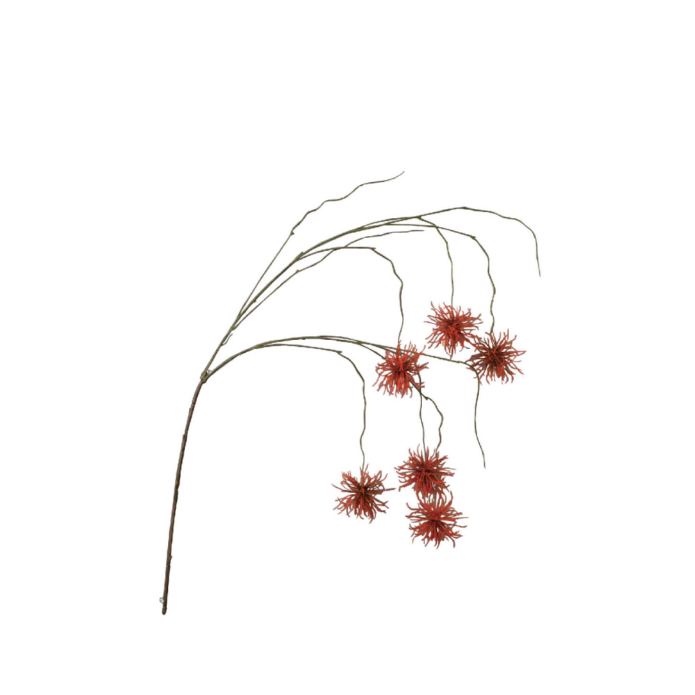 SPICE 日本超仿真人造花 -唯美垂頭翠菊(紅色)