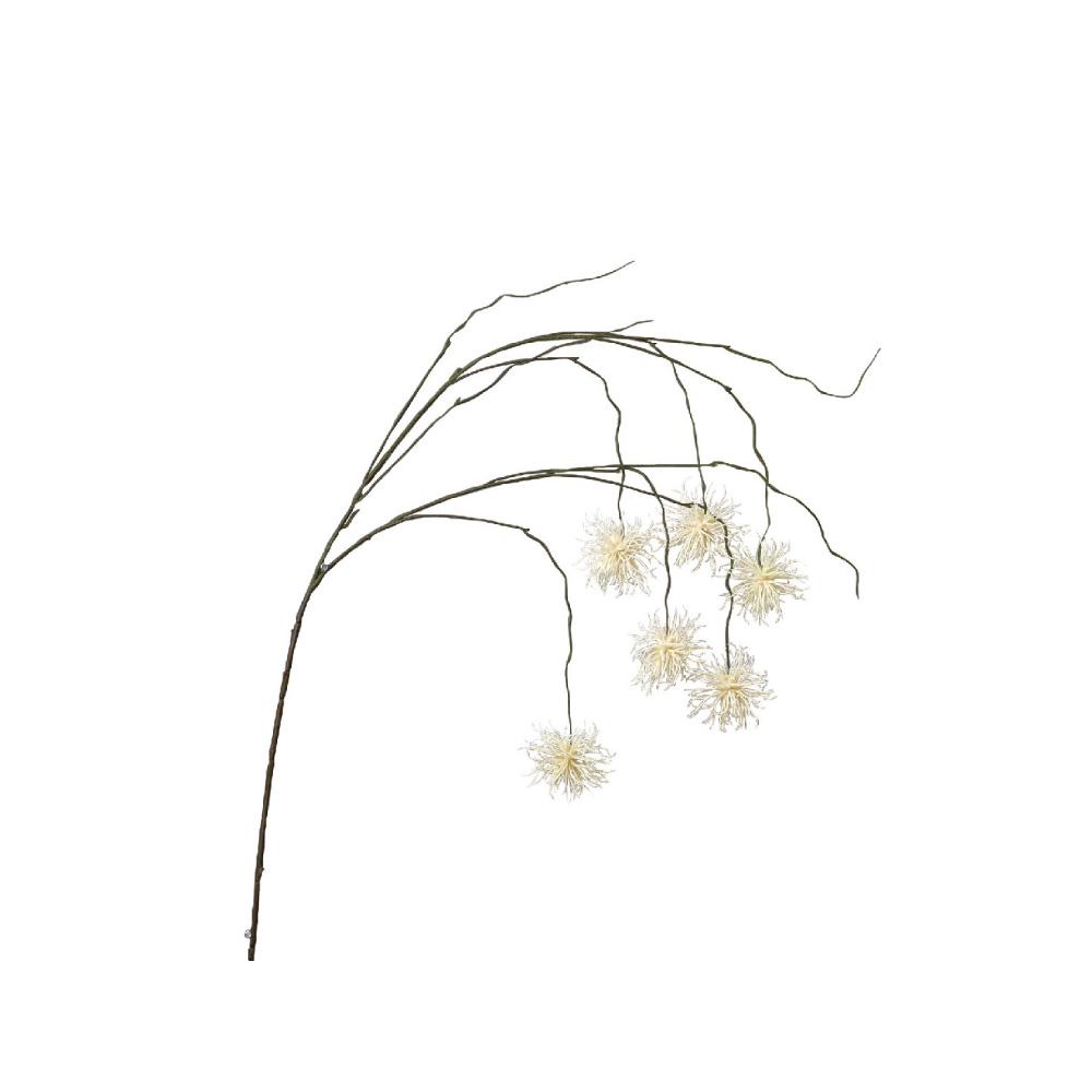 SPICE|日本超仿真人造花 -唯美垂頭翠菊(白色)