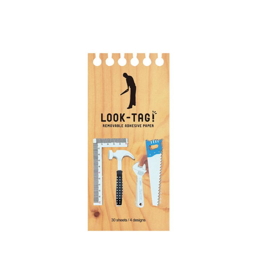 SPICE|日本LOOK-TAG! 設計便利貼/書籤- 工具