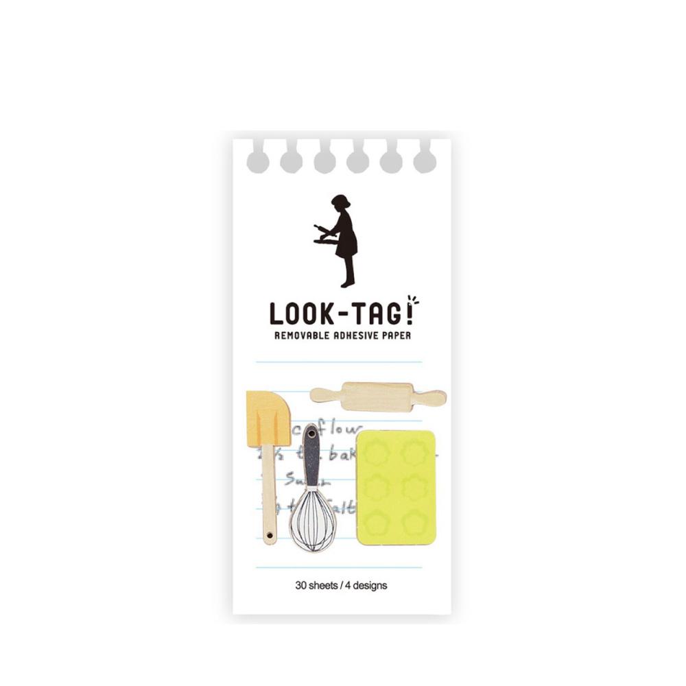 SPICE|日本LOOK-TAG! 設計便利貼/書籤- 烘培器具
