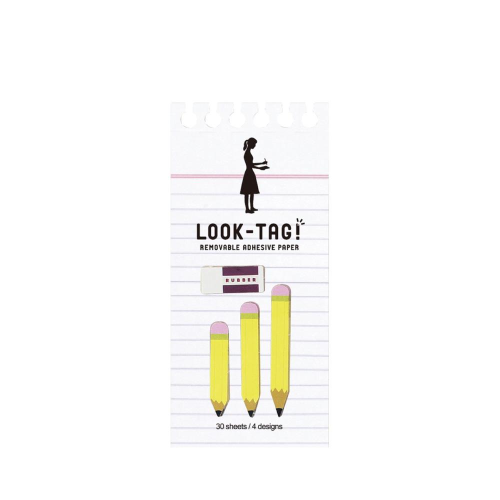 SPICE|日本LOOK-TAG! 設計便利貼/書籤- 鉛筆