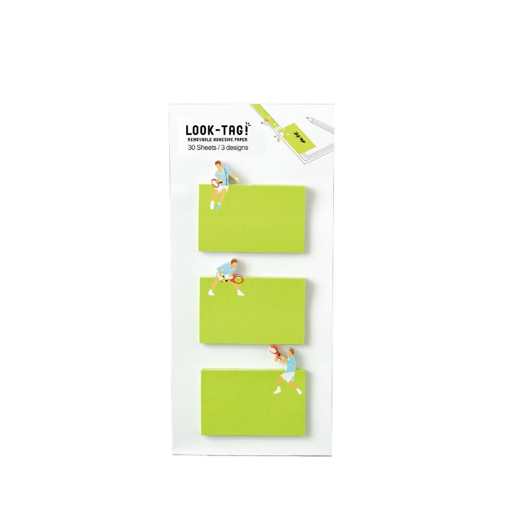 SPICE|日本LOOK-TAG! 設計便利貼/書籤- 網球