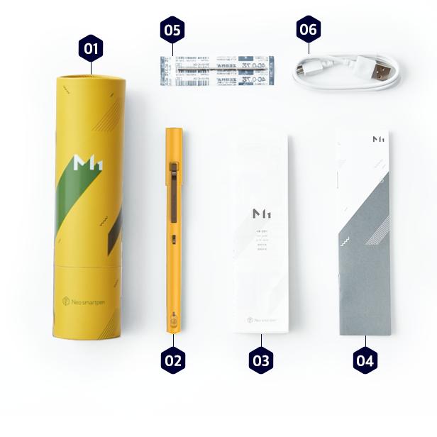 (複製)NeoLAB|Neo smartpen 時尚桃紅筆記組(灰色)