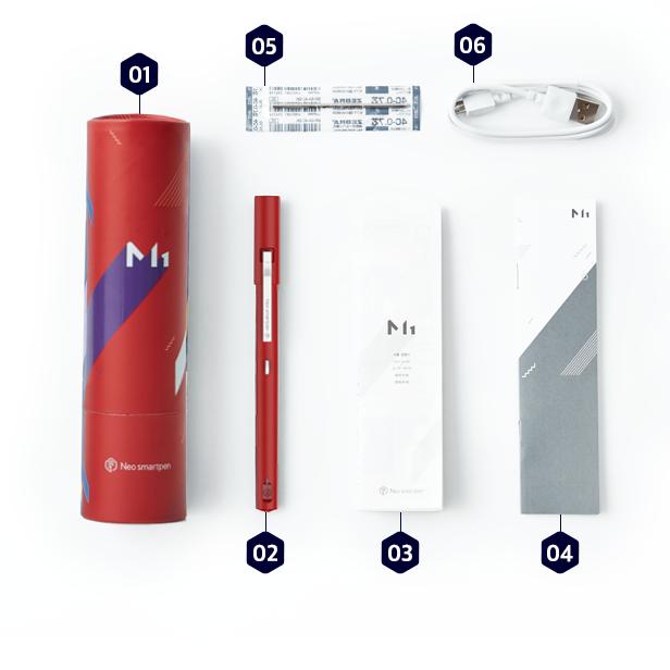 (複製)NeoLAB|Neo smartpen 時尚桃紅筆記組(黃色)