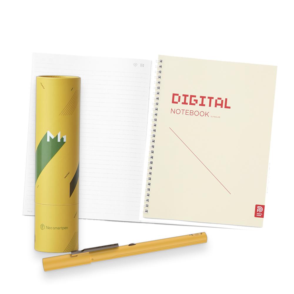 NeoLAB|Neo smartpen 數位筆記學習組(黃色)