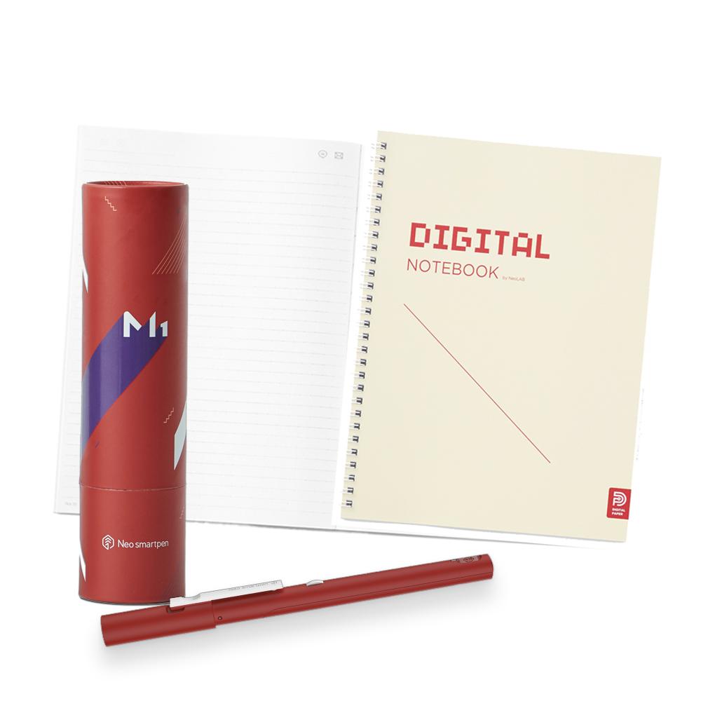 NeoLAB Neo smartpen 數位筆記學習組(紅色)