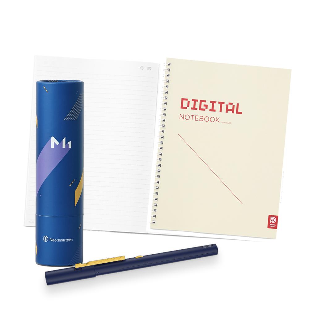 NeoLAB Neo smartpen 數位筆記學習組(海軍藍)