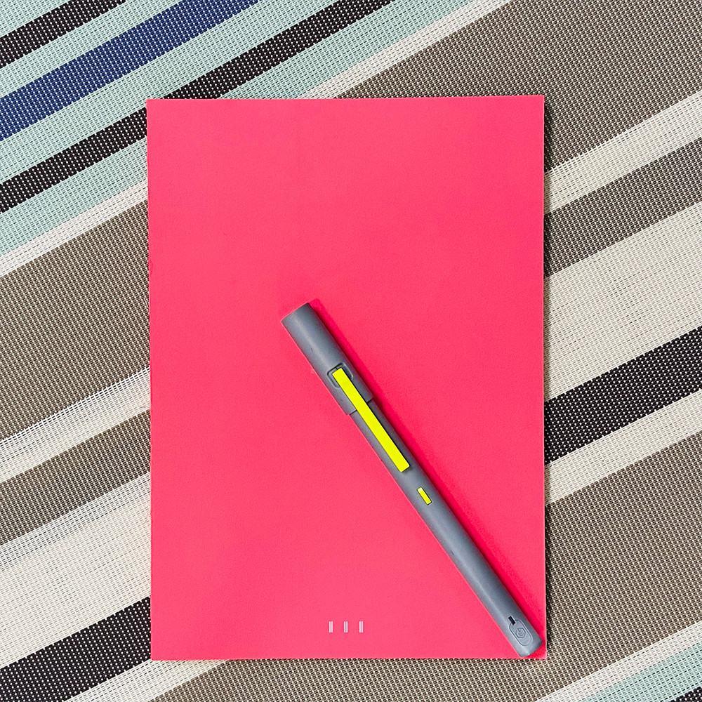 NeoLAB|Neo smartpen 智慧筆風格設計萬用本(紅色)