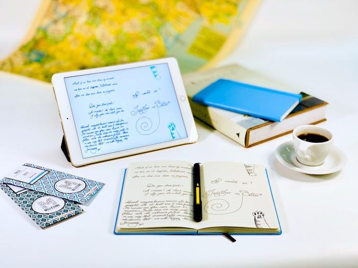 (複製)(複製)NeoLAB|Neo smartpen 時尚粉藍筆記組(紅色)