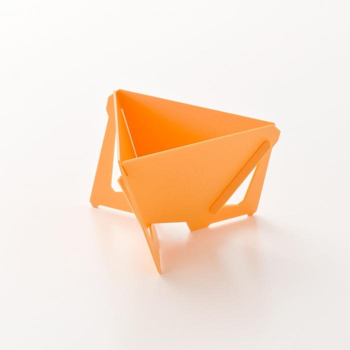【MUNIEQ】Tetra Drip 01P 攜帶型濾泡咖啡架- Yellow