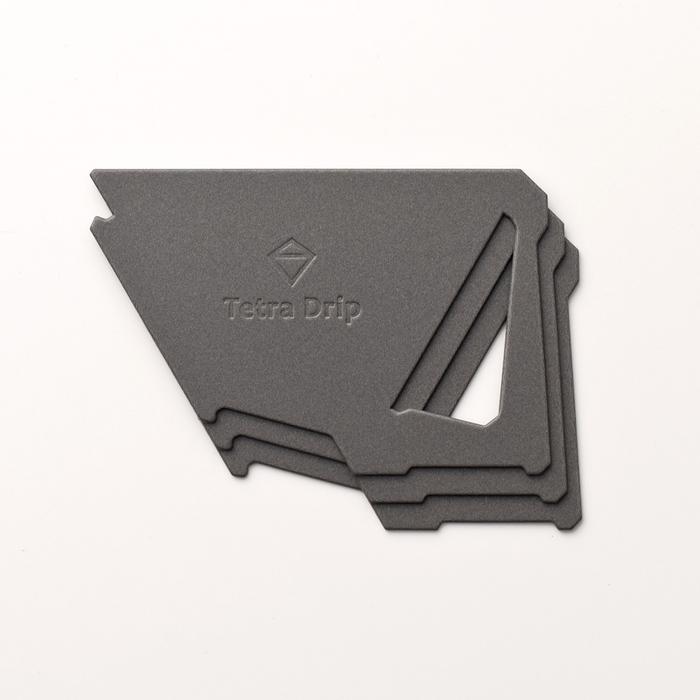 (複製)MUNIEQ|Tetra Drip 01P 攜帶型濾泡咖啡架- Grey