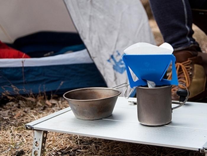 (複製)MUNIEQ Tetra Drip 01P 攜帶型濾泡咖啡架- Blue
