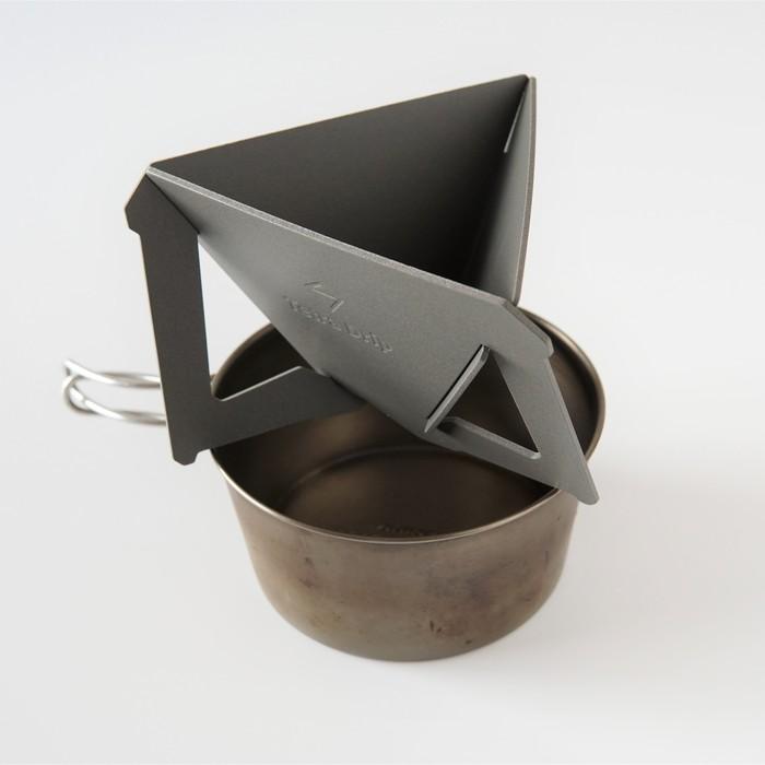 【MUNIEQ】Tetra Drip 02P 攜帶型濾泡咖啡架- Blue