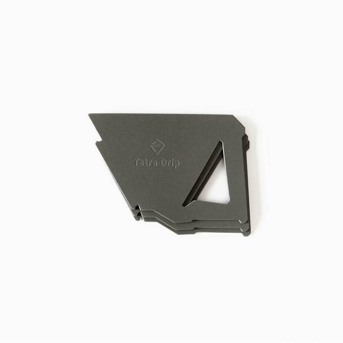 【MUNIEQ】Tetra Drip 02P 攜帶型濾泡咖啡架- Grey