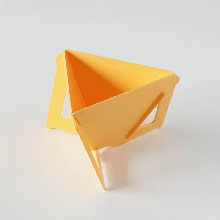 【MUNIEQ】Tetra Drip 02P 攜帶型濾泡咖啡架- Yellow