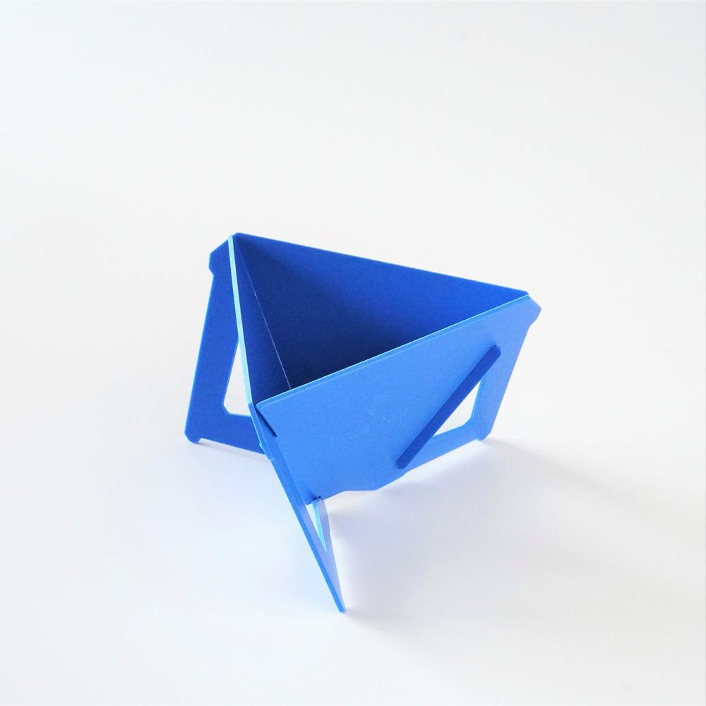 MUNIEQ|Tetra Drip 02P 攜帶型濾泡咖啡架- Blue