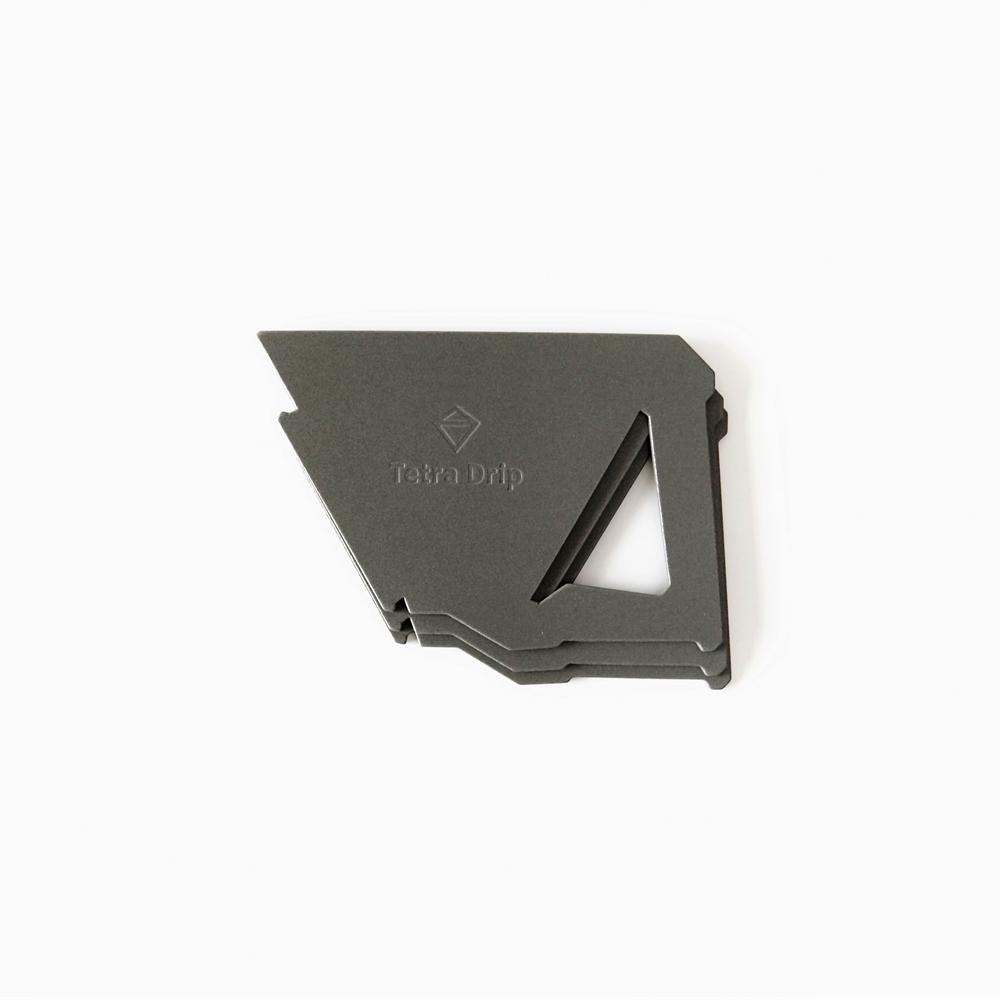 MUNIEQ Tetra Drip 02P 攜帶型濾泡咖啡架- Grey