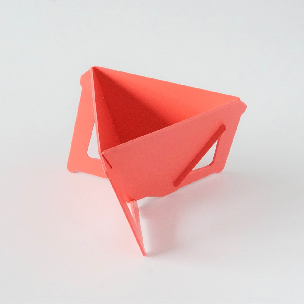 MUNIEQ|Tetra Drip 02P 攜帶型濾泡咖啡架- Red