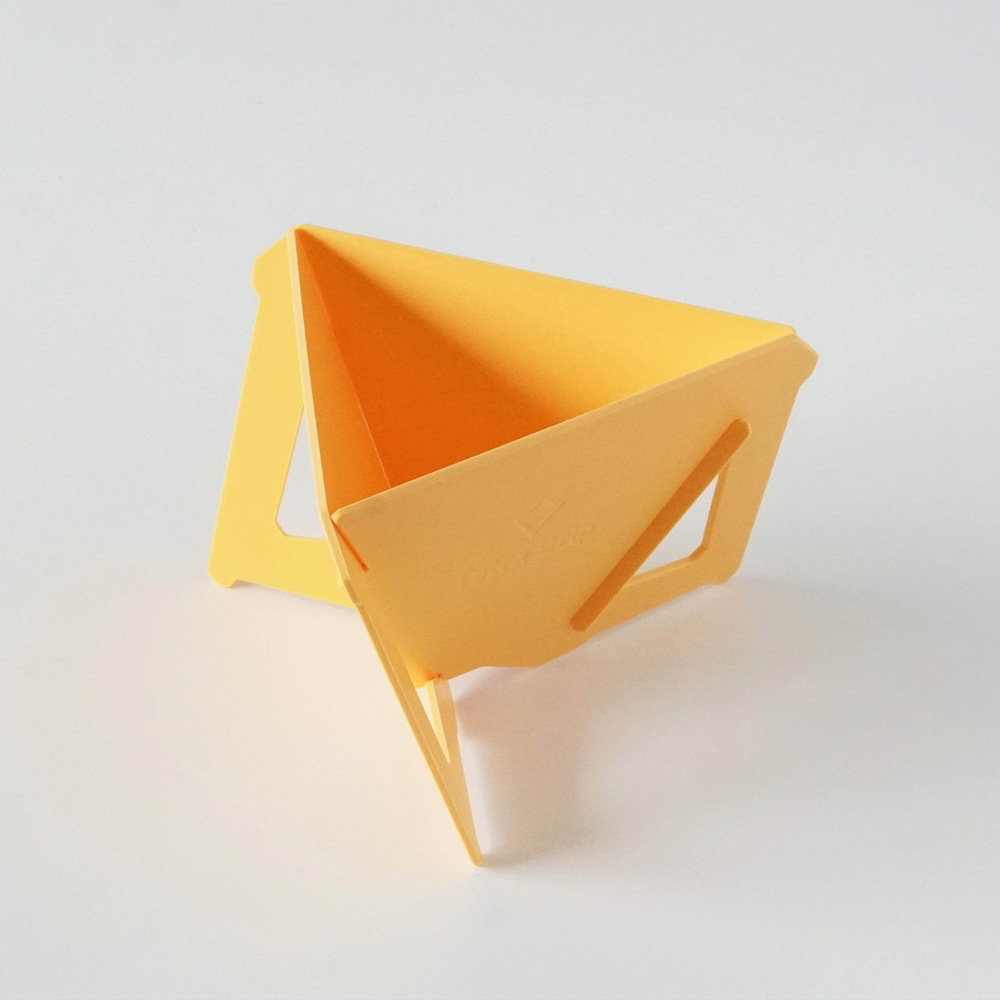 MUNIEQ|Tetra Drip 02P 攜帶型濾泡咖啡架- Yellow