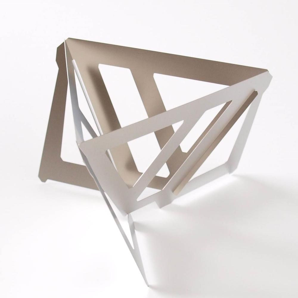 MUNIEQ|Tetra Drip 02T 攜帶型濾泡咖啡架 (Titanium)
