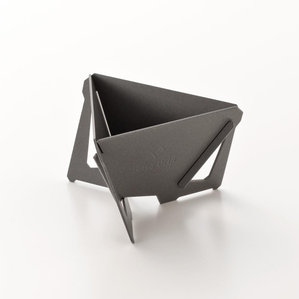 MUNIEQ|Tetra Drip 01P 攜帶型濾泡咖啡架- Grey