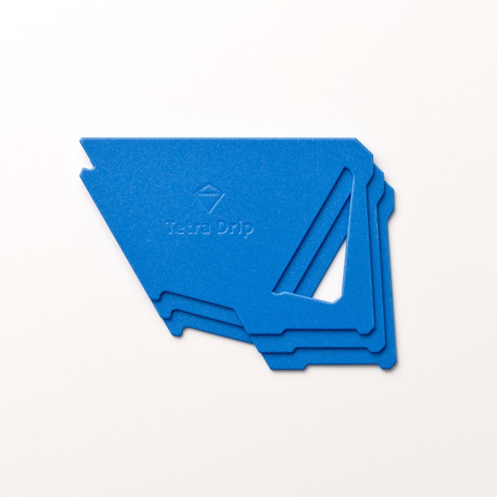 MUNIEQ Tetra Drip 01P 攜帶型濾泡咖啡架- Blue