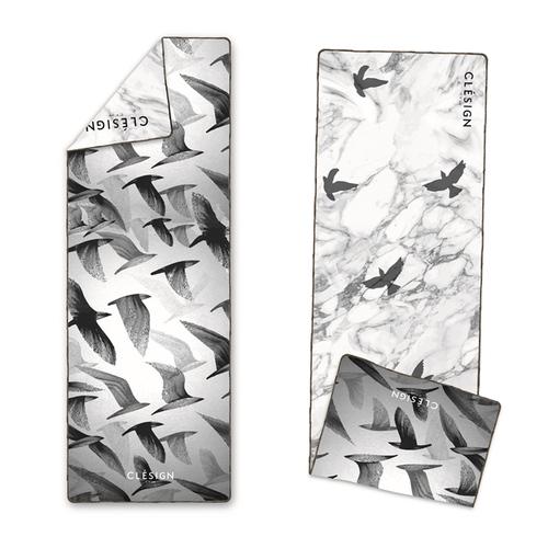 Clesign|OSE ECO YOGA TOWEL 瑜珈舖巾 - D10 Free Bird