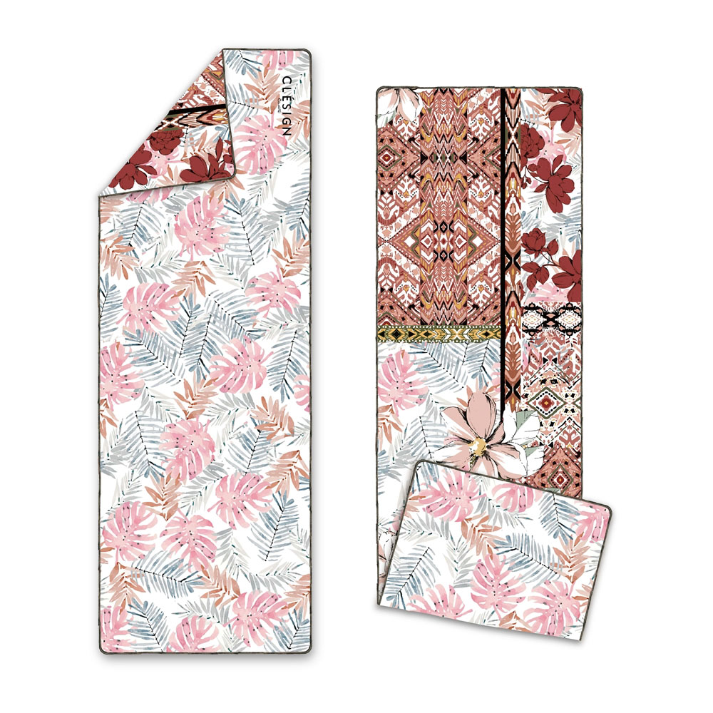 Clesign|OSE ECO YOGA TOWEL 瑜珈舖巾 - D11 Florid Colorful