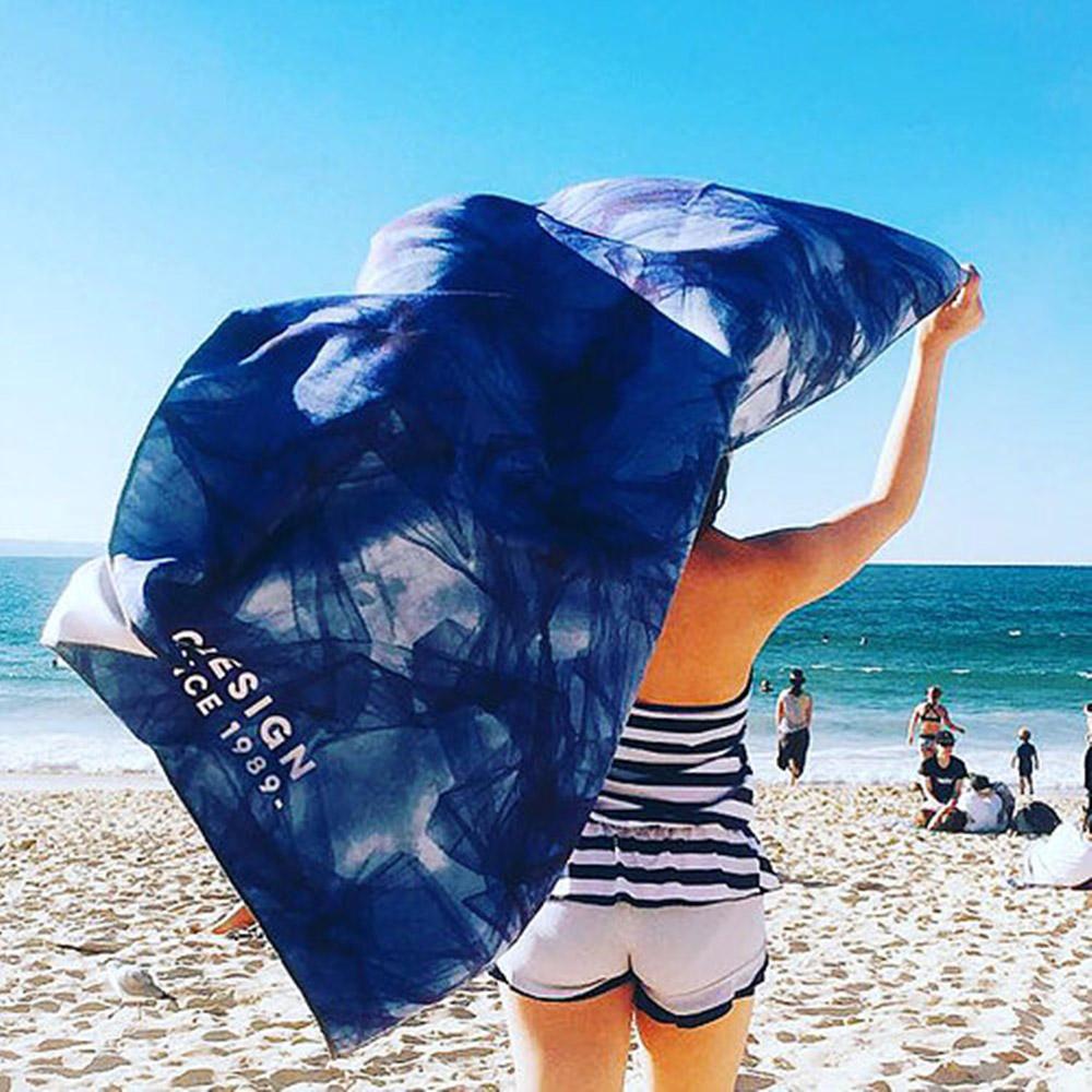 Clesign|OSE ECO YOGA TOWEL 瑜珈舖巾 - D13 Legend Of The Sea