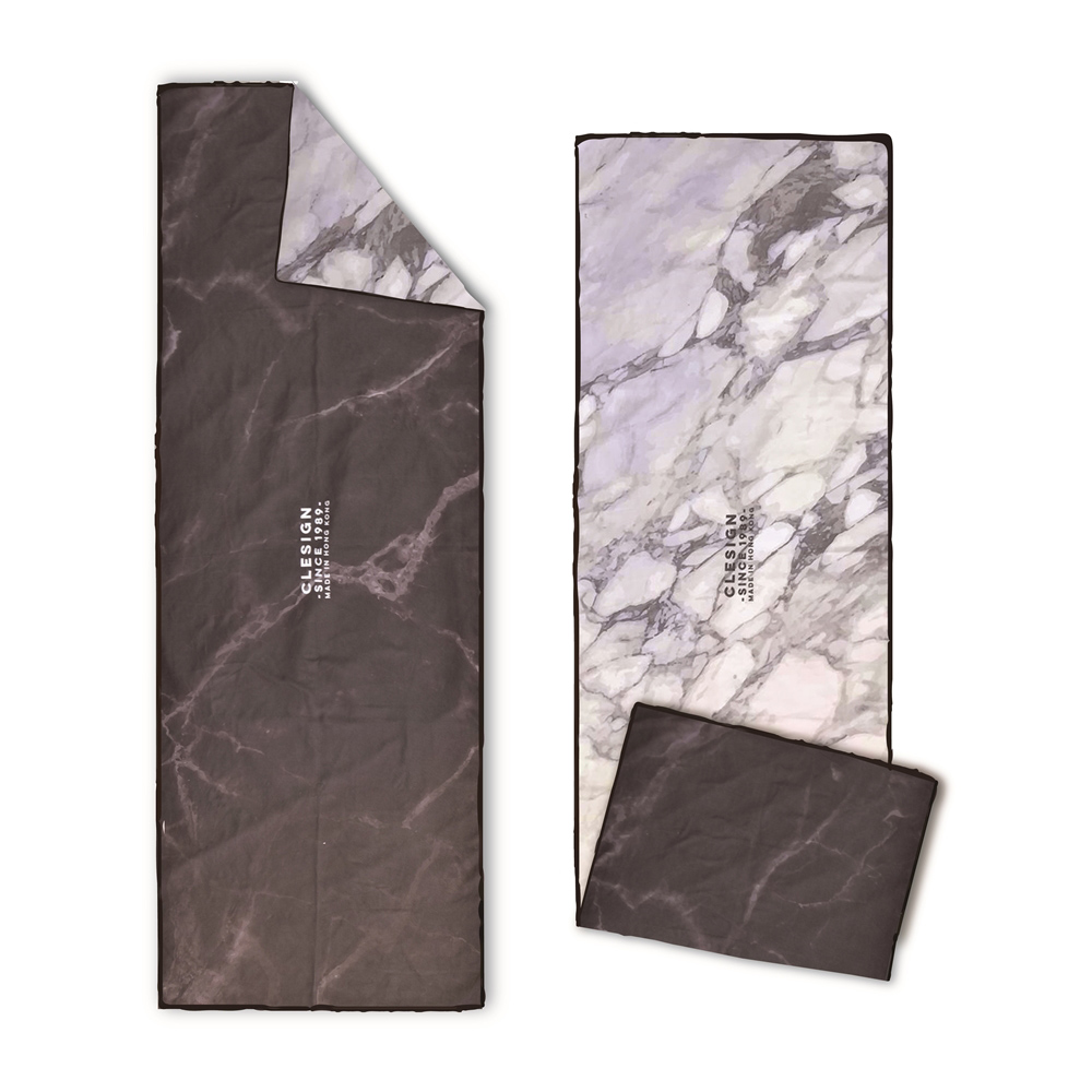Clesign|OSE ECO YOGA TOWEL 瑜珈舖巾 - D14 Elegant Marble