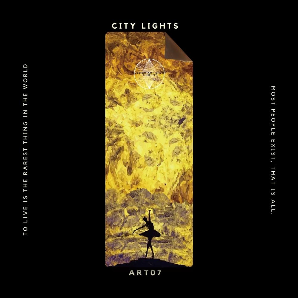 Clesign|OSE Yoga Mat 瑜珈墊 3mm - ART07 CITY LIGHTS