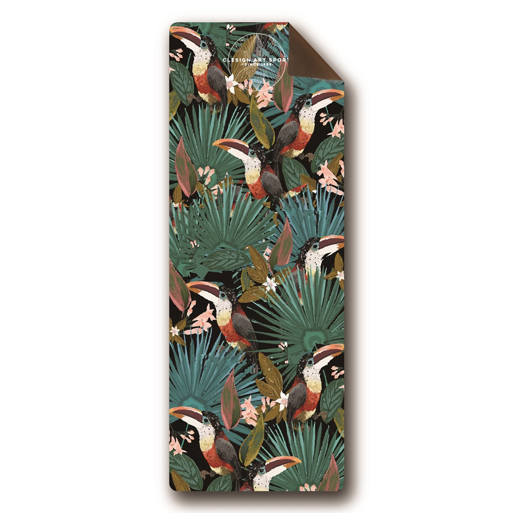 Clesign|OSE Yoga Mat 瑜珈墊 3mm - SS6 Jungle magpie bird