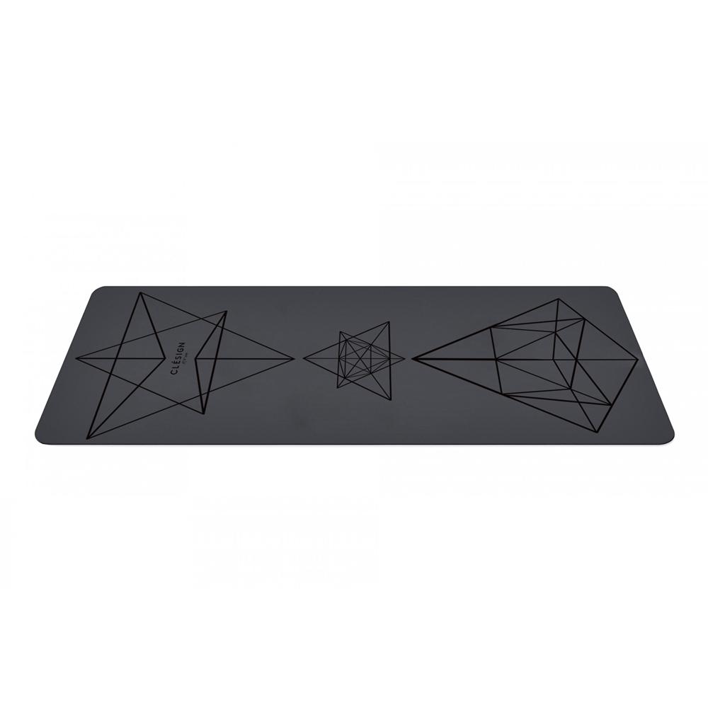 Clesign|Pro Yoga Mat 瑜珈墊 4.5mm - Black
