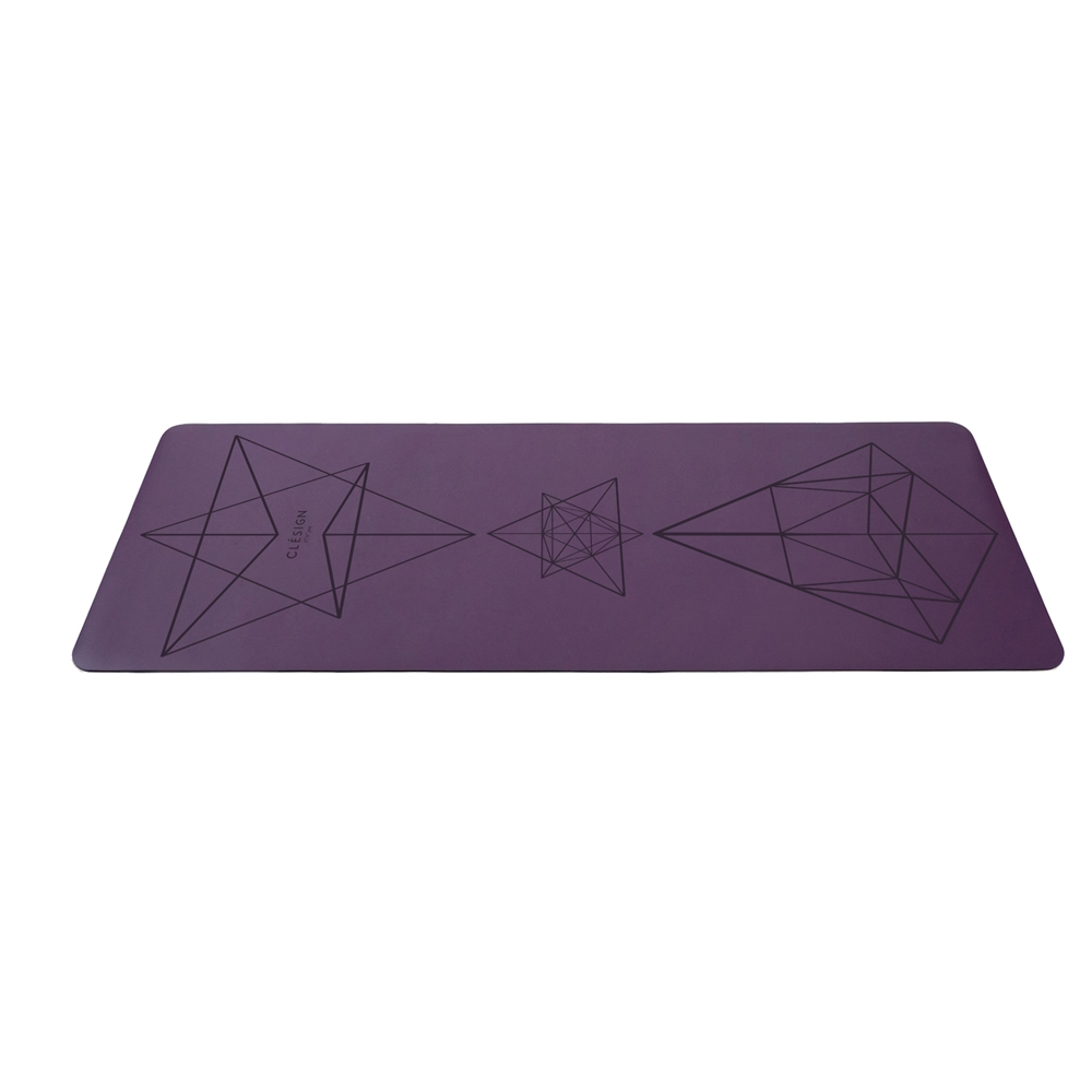 Clesign Pro Yoga Mat 瑜珈墊 4.5mm - Purple
