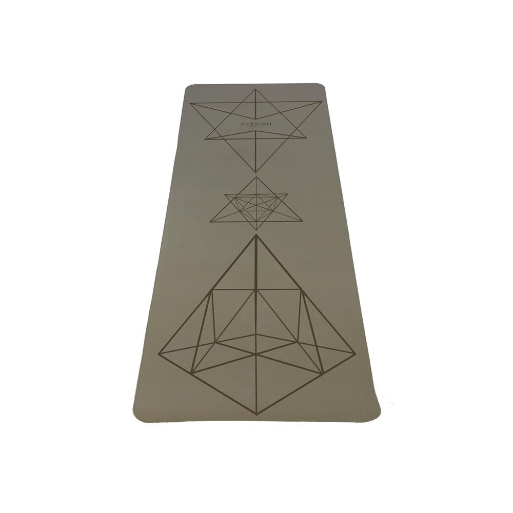 Clesign Pro Yoga Mat 瑜珈墊 2mm - Creamy Brown