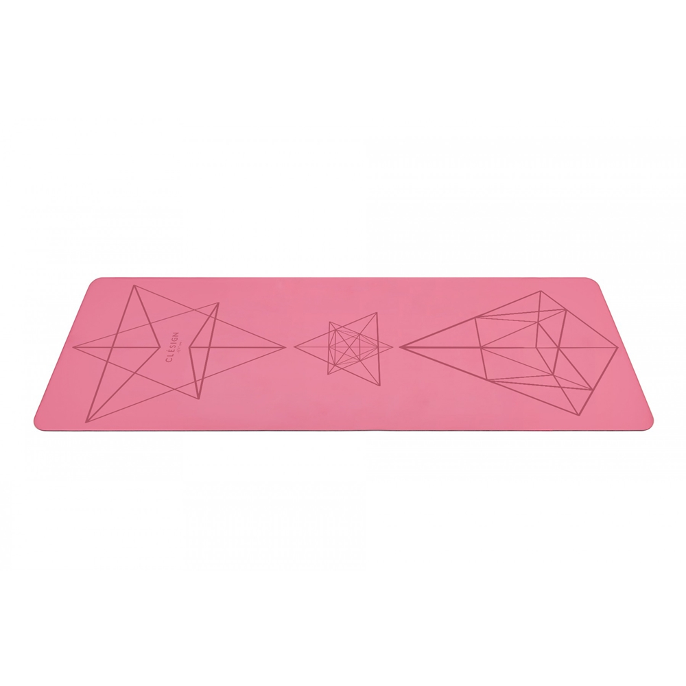 Clesign|Pro Yoga Mat 瑜珈墊 2mm - Pink