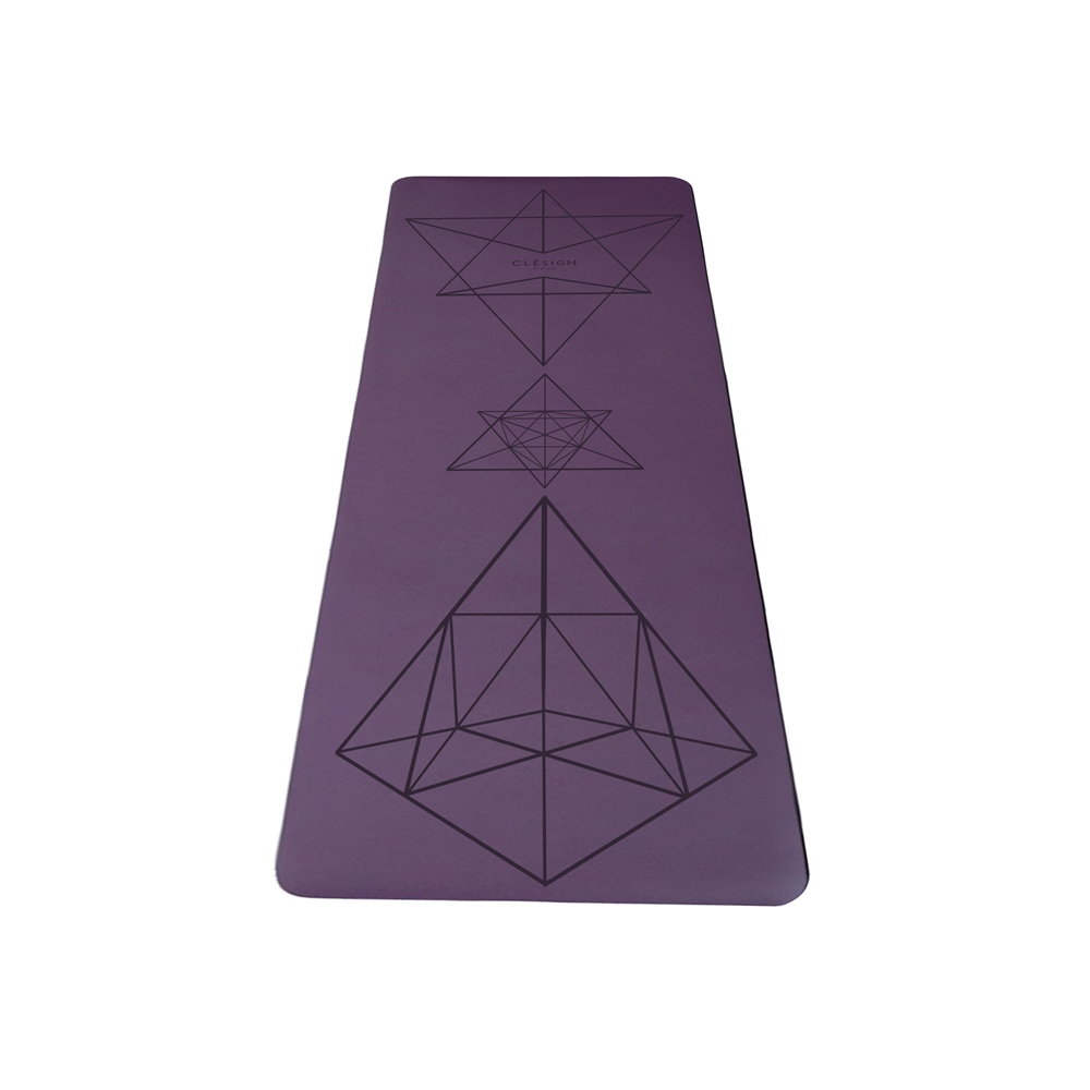 Clesign|Pro Yoga Mat 瑜珈墊 2mm - Purple