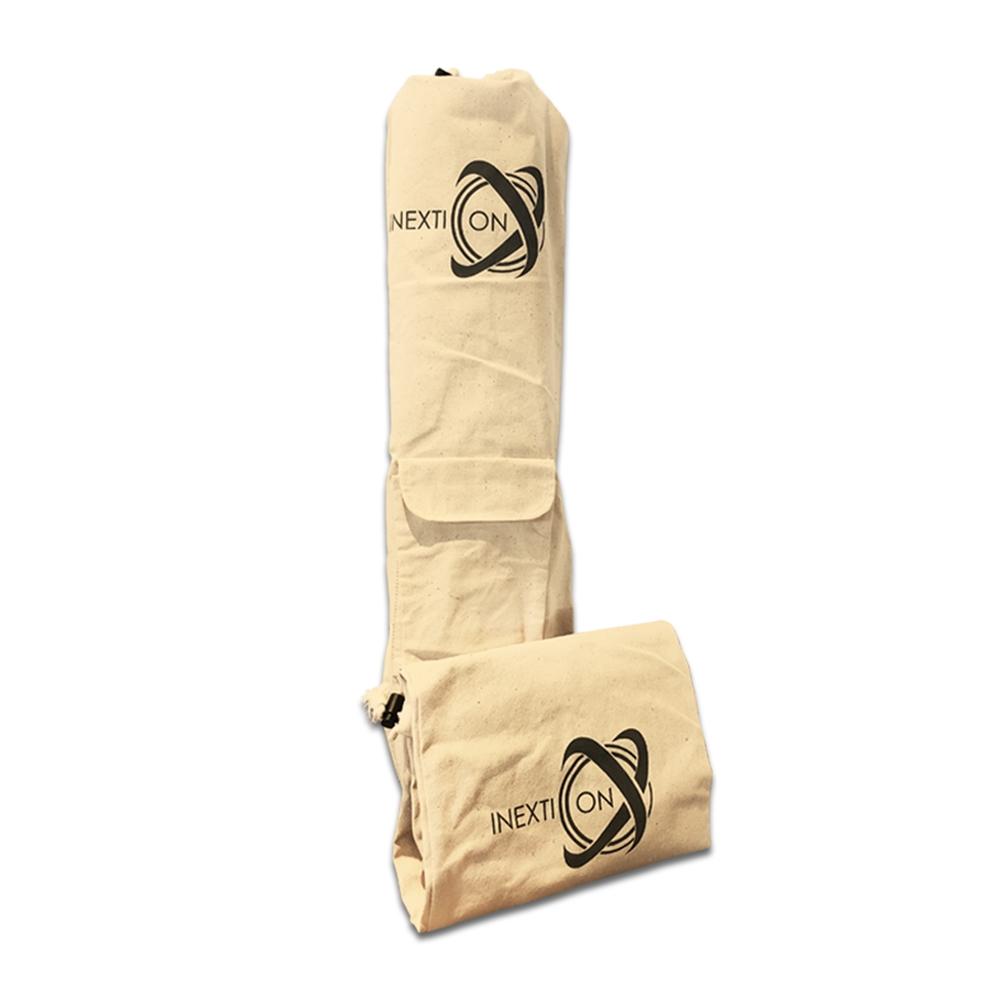 INEXTION|瑜珈墊純胚棉布揹袋