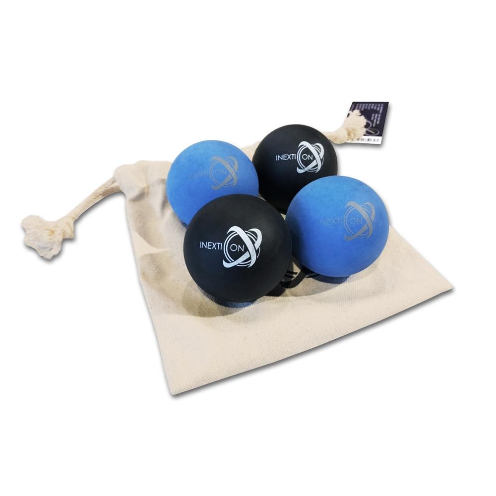 INEXTION|Therapy Balls 筋膜按摩療癒球(4入) - 藍+黑 台灣製