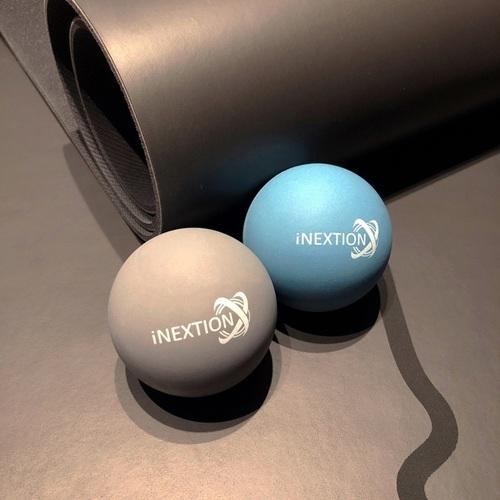 INEXTION Therapy Balls 筋膜按摩療癒球(4入) - 淺藍+天灰 台灣製