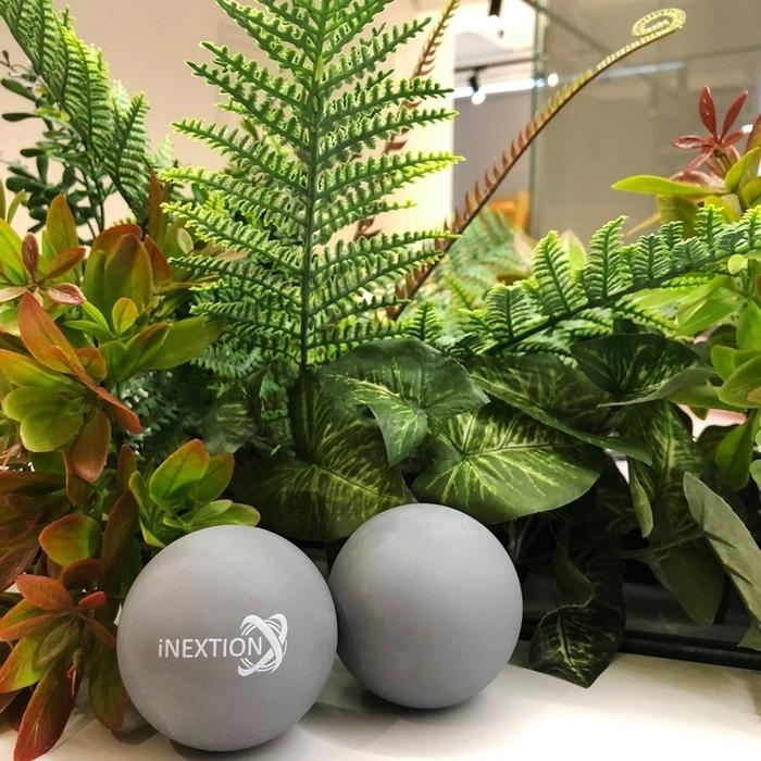 INEXTION Therapy Balls 筋膜按摩療癒球(2入) - 黑 台灣製