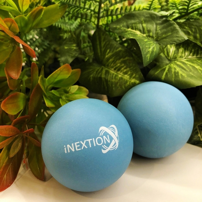 INEXTION|Therapy Balls 筋膜按摩療癒球(2入) - 藍 台灣製