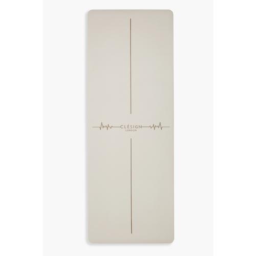 Clesign|Pro Yoga Mat - Follow The Heartbeat 瑜珈墊 4.5mm - Creamy Brown