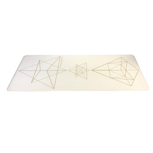 Clesign|PRO Yoga Mat 旅行瑜珈墊 1.2mm - STAR WHITE