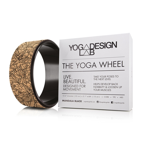 YogaDesignLab|The Yoga Wheel 瑜珈輪 - Cork Aadrika