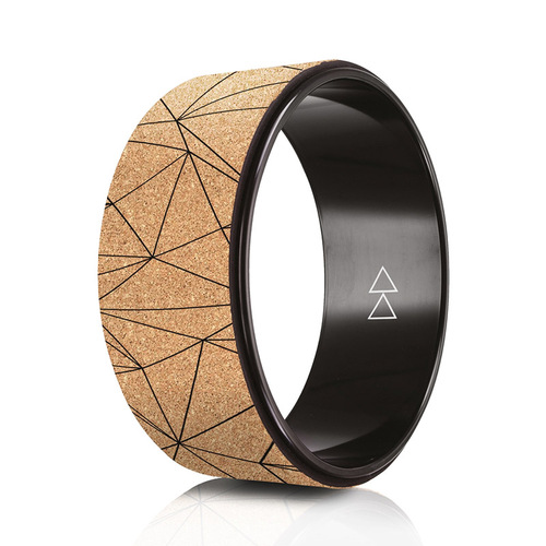 YogaDesignLab|The Yoga Wheel 瑜珈輪 - Cork Geo